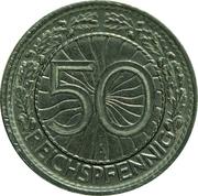 50 Reichspfennig -  reverse