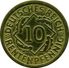 10 Rentenpfennig – reverse