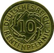 10 Rentenpfennig -  reverse