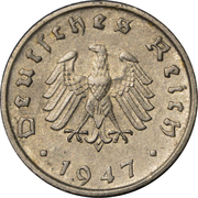 10 Reichspfennig (Allied Occupation) -  obverse