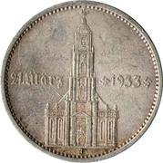 5 Reichsmark (Potsdam Garrison Church) -  reverse