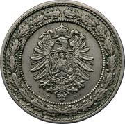 20 Pfennig - Wilhelm I – obverse