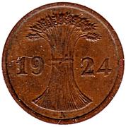 2 Reichspfennig -  obverse