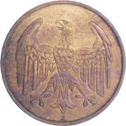 4 Reichspfennig -  obverse