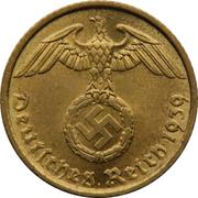 5 Reichspfennig – obverse