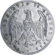 3 Mark (Weimar Constitution) -  obverse
