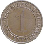 1 Rentenpfennig – reverse