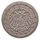 20 Pfennig - Wilhelm II – obverse
