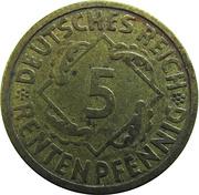 5 Rentenpfennig -  reverse