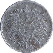 5 Pfennig - Wilhelm II (type 2 - small shield) -  obverse
