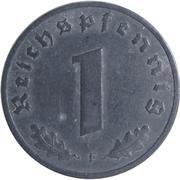 1 Reichspfennig (Allied Occupation) – reverse