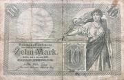 10 Mark (Reichskassenschein) – obverse