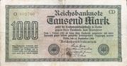 1000 Mark (Reichsbanknote) – obverse