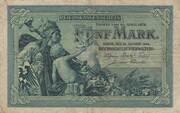5 Mark (Reichskassenschein) – obverse