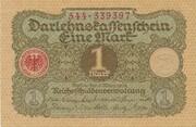 1 Mark (Darlehnskassenschein) – obverse