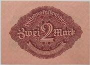 2 Mark (Darlehnskassenschein) – reverse