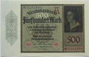 500 Mark (Reichsbanknote) – obverse
