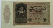 5000 Mark (Reichsbanknote) – obverse