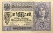5 Mark (Darlehnskassenschein) – obverse