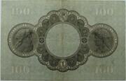 100 Mark (Badische Bank) – reverse