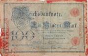 100 Mark (Reichsbanknote) – obverse