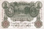 50 Mark (Reichsbanknote) – obverse