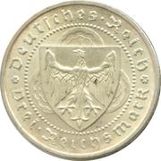3 Reichsmark (Walther von der Vogelweide) -  obverse
