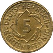 5 Rentenpfennig -  obverse