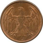 4 Reichspfennig – obverse