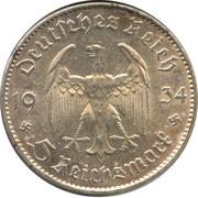 5 Reichsmark (Potsdam Garrison Church) -  obverse