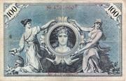 100 Mark (Reichsbanknote) – reverse