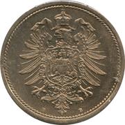 10 Pfennig - Wilhelm I (type 1 - large shield) – obverse