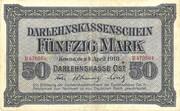 50 Marks (Darlehnskassenschein) – obverse