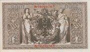 1000 Mark (Reichsbanknote; red seal) – reverse