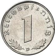 1 Reichspfennig (Allied Occupation - Pattern) – reverse