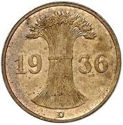 1 Reichspfennig (Allied Occupation - Pattern) – obverse