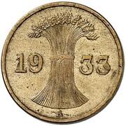 1 Reichspfennig (Pattern) – obverse