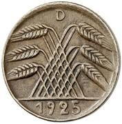 5 Reichspfennig (Pattern) – obverse