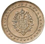1 Pfennig - Wilhelm I (Pattern) – obverse