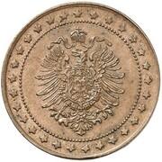 2 Pfennig - Wilhelm I (Pattern) – obverse
