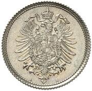 10 Pfennig - Wilhelm I (Pattern) – obverse