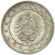 20 Pfennig - Wilhelm I (Pattern) -  obverse