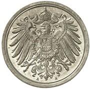 1 Pfennig - Wilhelm II (type 2 - small shield - Pattern) – obverse