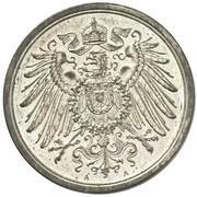 2 Pfennig - Wilhelm II (type 2 - small shield - Pattern) – obverse