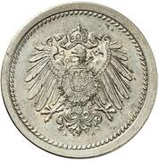 10 Pfennig - Wilhelm II (type 2 - small shield - Pattern) – obverse