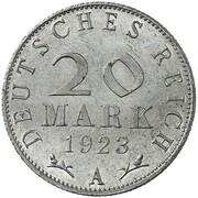 20 Mark (Pattern) – reverse