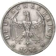 3 Reichsmark (Pattern) -  obverse