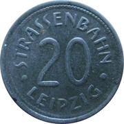 20 Pfennig - Leipzig (tram) – obverse