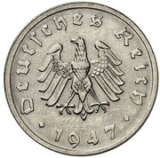 10 Reichspfennig (Allied Occupation - Pattern) -  obverse