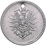 1 Pfennig - Wilhelm I (type 1 - large shield - Pattern) – obverse